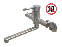 <span class='notranslate'>Lead-free stainless steel kitchen faucet (Wall-mounted)</span>